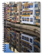 River Onyar Girona Spain Spiral Notebook