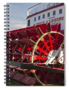 River Paddle Steamer Spiral Notebook