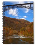 River Rafting At New River Spiral Notebook