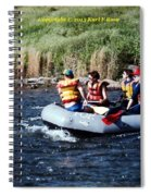 River Rafting Spiral Notebook
