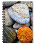 River Rocks 1 Spiral Notebook