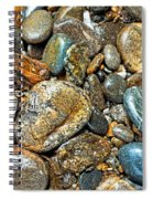 River Rocks 14 Spiral Notebook