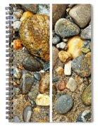River Rocks 17 In Stereo Spiral Notebook