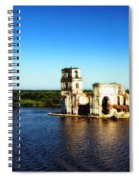 River Ruins Spiral Notebook