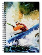 River Rush Spiral Notebook