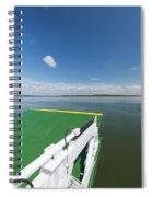 River Shannon Ferry, Tarbert-killimer Spiral Notebook