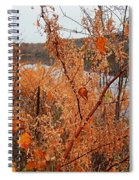 River Side Foliage Autumn Spiral Notebook