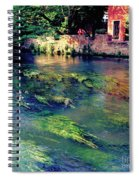 River Sile In Treviso Italy Spiral Notebook