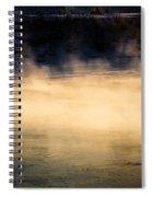 River Smoke Spiral Notebook