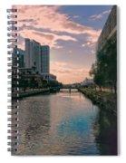 River Through Baltimore Spiral Notebook