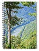 River Thru The Trees Spiral Notebook