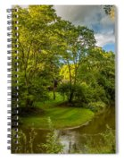 River Tranquility Spiral Notebook
