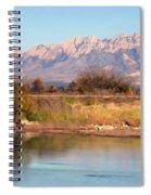 River View Mesilla Panorama Spiral Notebook