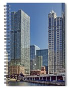 River View Skyline Spiral Notebook