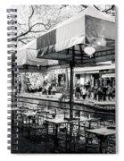 River Walk Tables Spiral Notebook