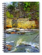 River Wall Spiral Notebook