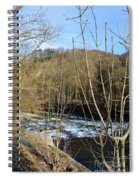 River Waterfall Spiral Notebook