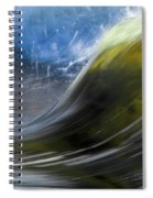 River Wave Spiral Notebook