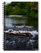 River Wye - In Peak District - England Spiral Notebook