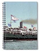 Riverboat, C1900 Spiral Notebook
