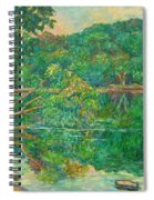 Riverview Reflections Spiral Notebook