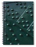 Rivets 03 Spiral Notebook