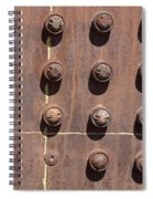 Chama -rivets On Steam Engine Boiler Spiral Notebook