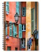 Riviera Alley Spiral Notebook