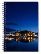 Riviera Blue Spiral Notebook