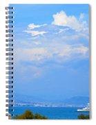Riviera Blues Spiral Notebook