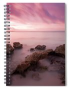 Riviera Maya Sunrise Spiral Notebook