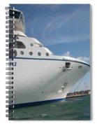 Riviera Ocean Liner Spiral Notebook
