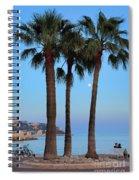 Riviera Romance Spiral Notebook