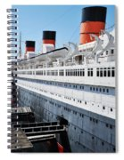 Rms Queen Mary Spiral Notebook