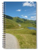 Road In The Mountains Spiral Notebook