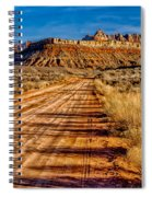 Road Into Solitude Spiral Notebook