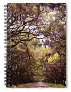 Road Of Trees Spiral Notebook