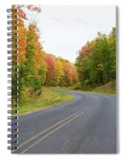 Road Passing Through A Forest, Alger Spiral Notebook