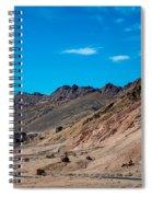 Road Through Badwater Spiral Notebook