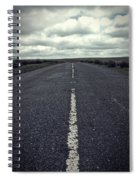 Road To The Clouds Spiral Notebook