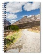 Road To Beinn Eighe Spiral Notebook