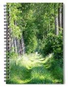 Road To Bruges Spiral Notebook