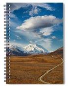 Road To Denali Spiral Notebook