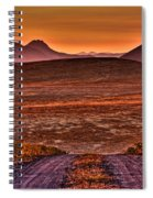 Road To Edna Valley Spiral Notebook