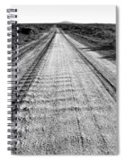 Road To Everywhere Bw Spiral Notebook