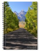 Road To Happiness Spiral Notebook