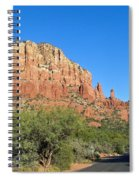 Road To Mother And Child Sedona Arizona Spiral Notebook