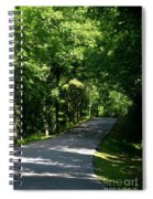 Road To Nature Spiral Notebook