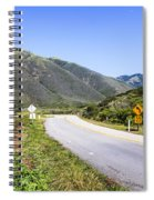 Road To Nowhere Spiral Notebook