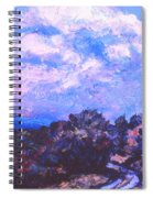 Road To Rocky Knob Spiral Notebook